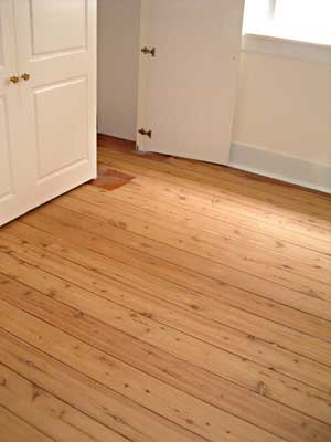 Stained cypress - Cypress floorboards ...